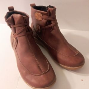 Womens Ankle bootie boot shoes